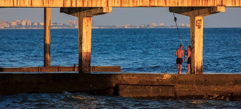 Free stock photo of sea, russia, blacksea, sochi