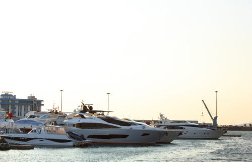 Yachts On Body Of Water