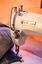 White Singer Sewing Machine