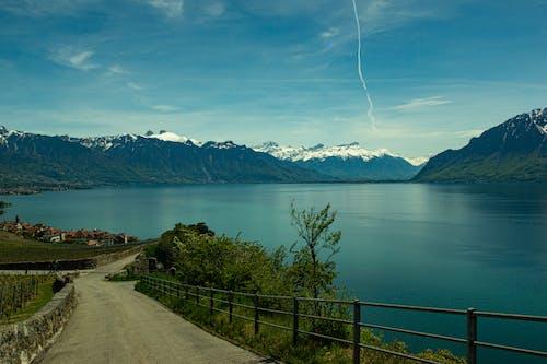 경치, 봄, 스위스 알프스의 무료 스톡 사진