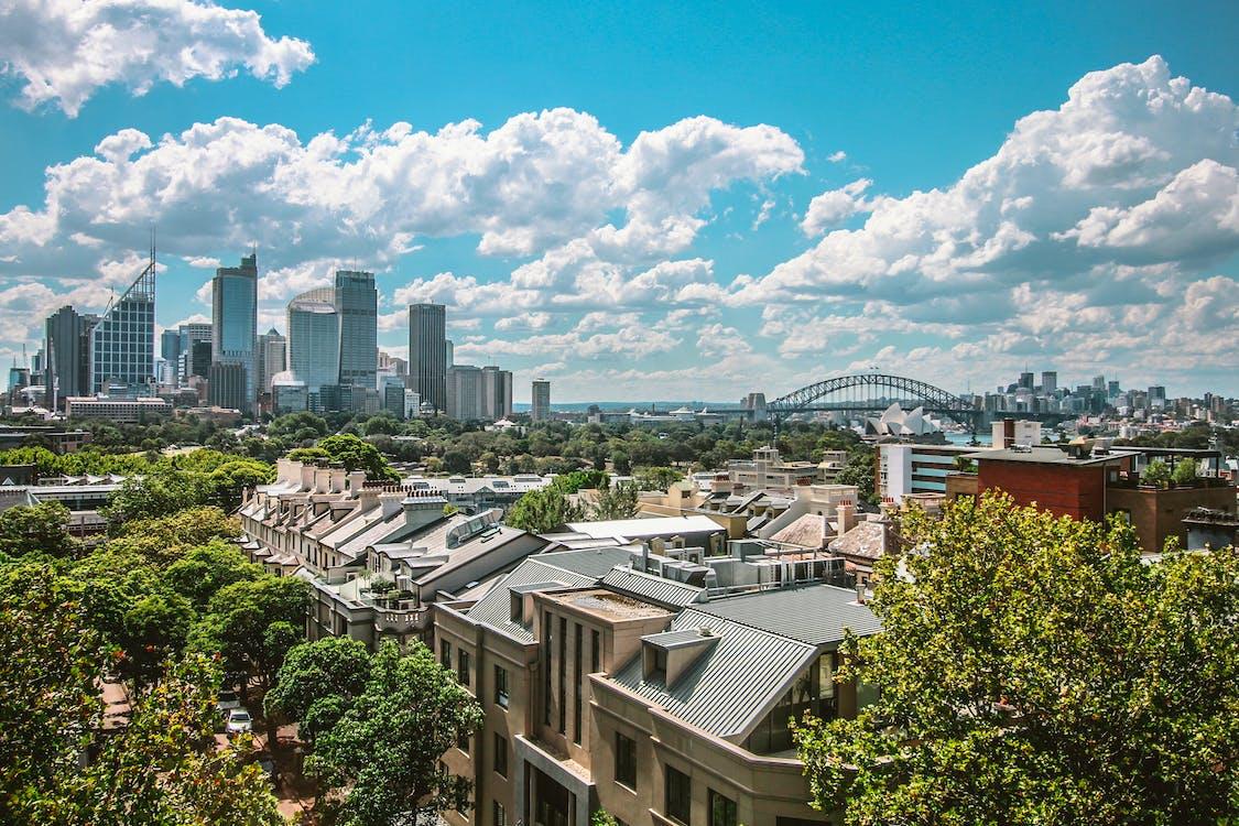 城市, 塔, 天空 的 免费素材图片