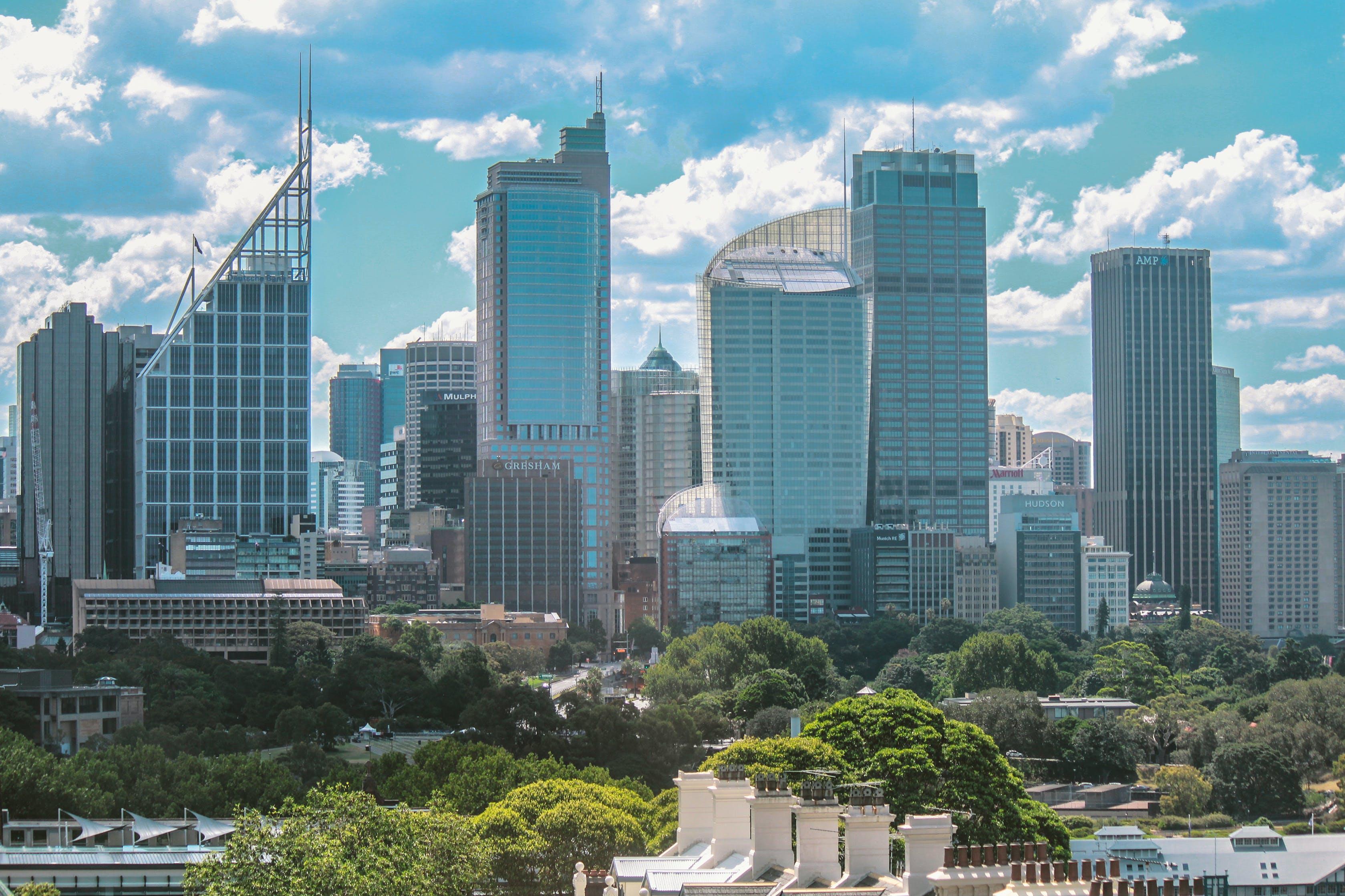 Δωρεάν στοκ φωτογραφιών με αρχιτεκτονική, αστικός, Αυστραλία, γραμμή ορίζοντα