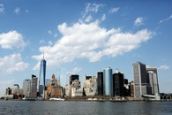 city, skyline, new york