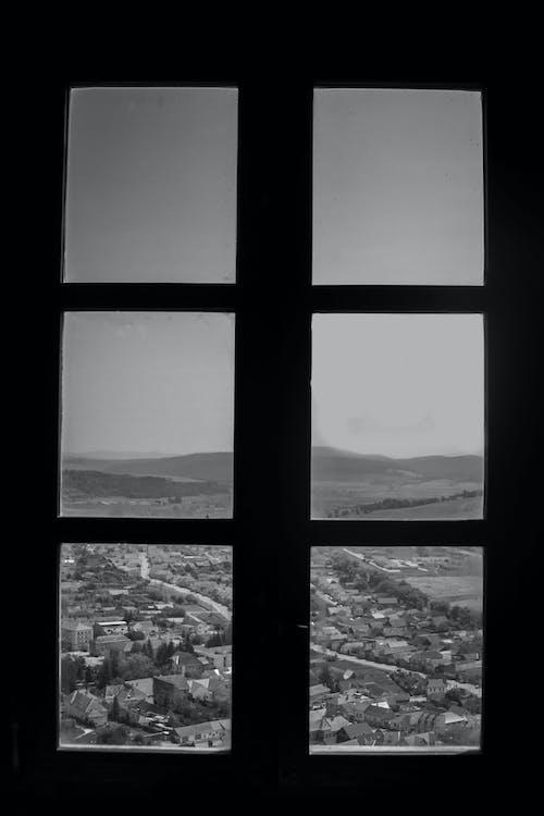 Darmowe zdjęcie z galerii z biały, czarny, krajobraz