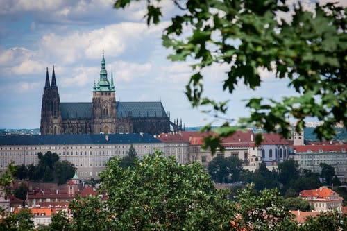 View of Prague Cathedral