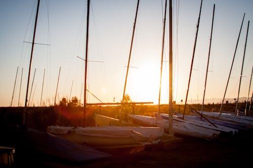 Free stock photo of beach, boat, italy, summer