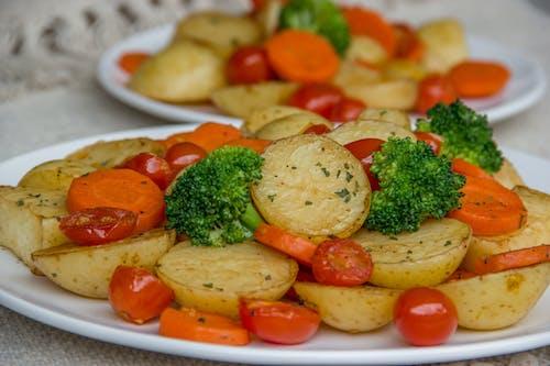Бесплатное стоковое фото с аппетитный, блюдо, брокколи