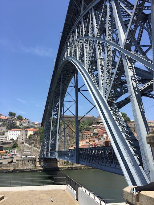 アーチ橋, ブリッジ, ポルト, ポルトガルの無料の写真素材