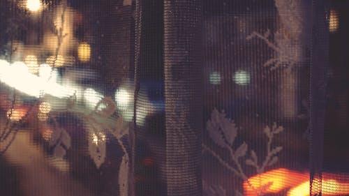 Immagine gratuita di città, finestra, luci della città