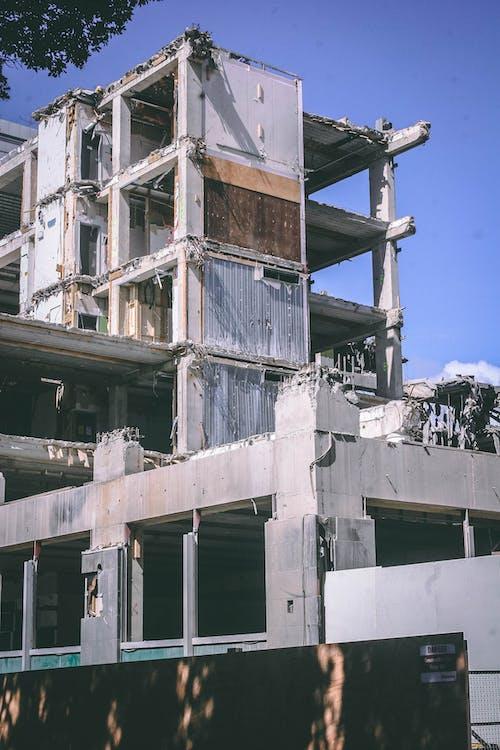 afet, bakış açısı, beton, bina içeren Ücretsiz stok fotoğraf
