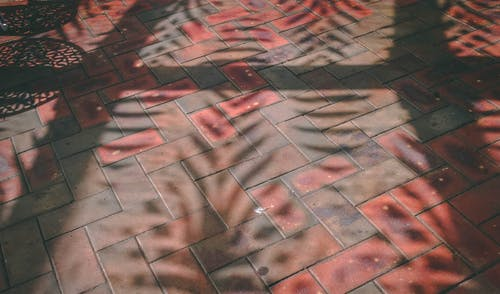 Δωρεάν στοκ φωτογραφιών με δρόμος, κόκκινα τούβλα, μονοπάτι, μοτίβο