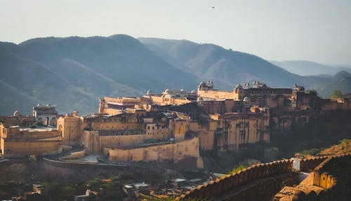 Free stock photo of castle, golden, Jaipur