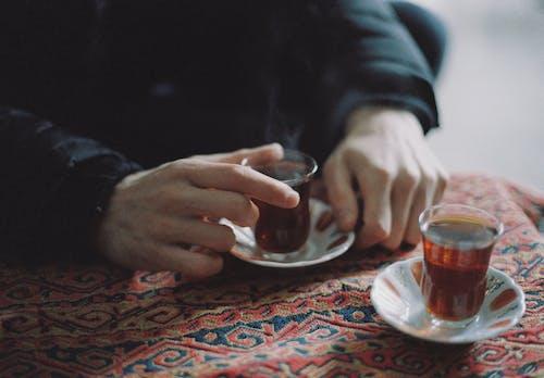 アフタヌーンティー, お茶, クローズアップショットの無料の写真素材
