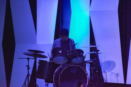 Kostnadsfri bild av trummis