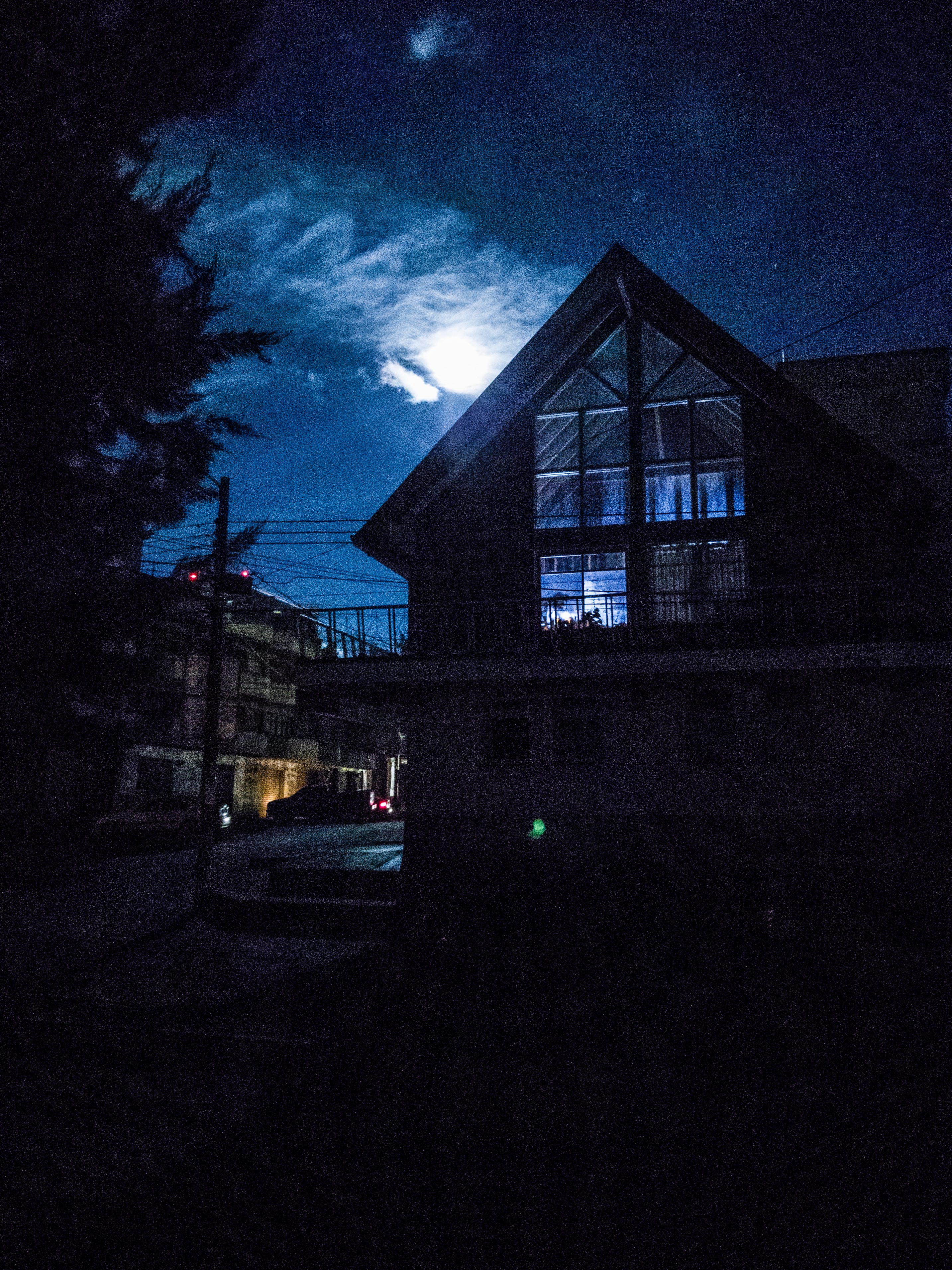 luna, night