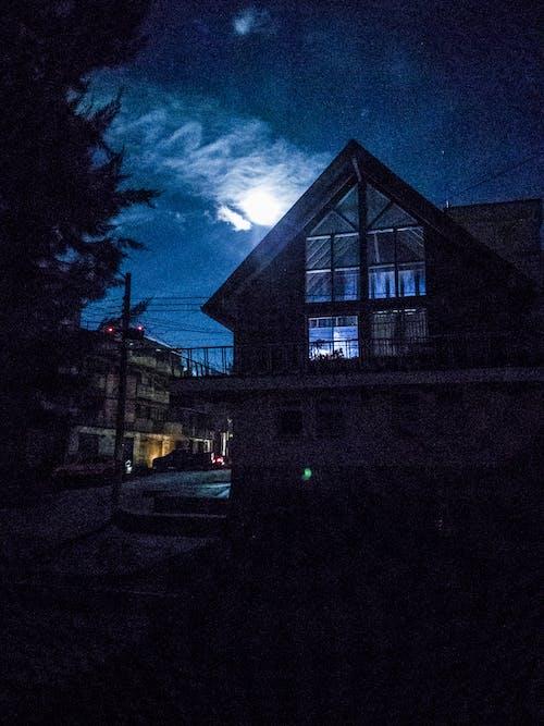 Kostnadsfri bild av månen, natt
