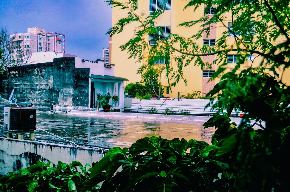 água, ao ar livre, arquitetura