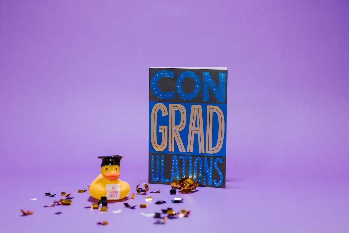 Photo of a Graduation Card