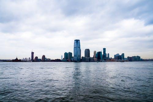 全景, 反射, 城市, 多雲的 的 免費圖庫相片