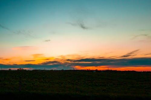 Free stock photo of clouds, dark, dawn