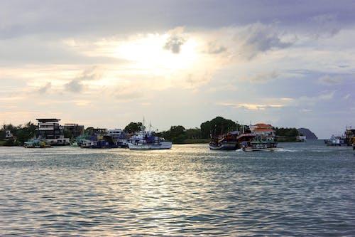 Free stock photo of port, sea, seaside, ship