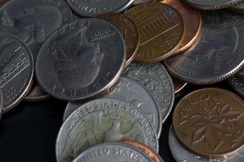 貨幣, 錢, 零錢 的 免费素材照片