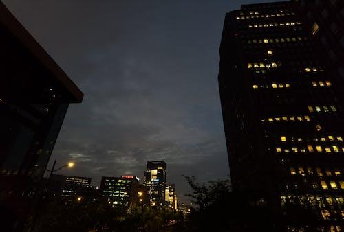 Бесплатное стоковое фото с город, день ночь, легкий