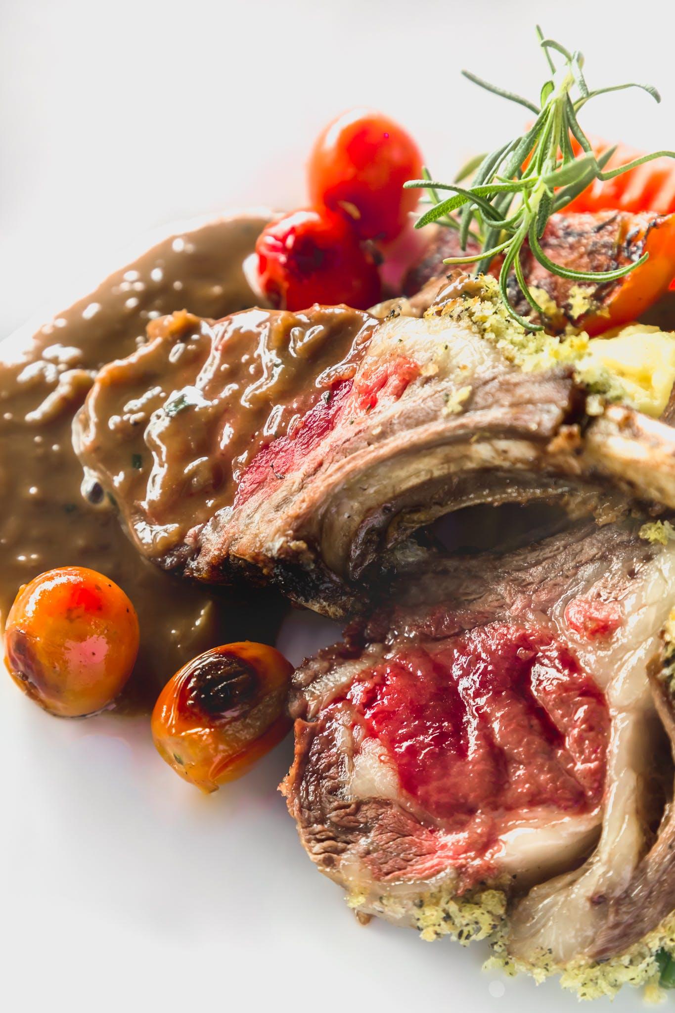 Gratis lagerfoto af fotografi, kød, lam, mad