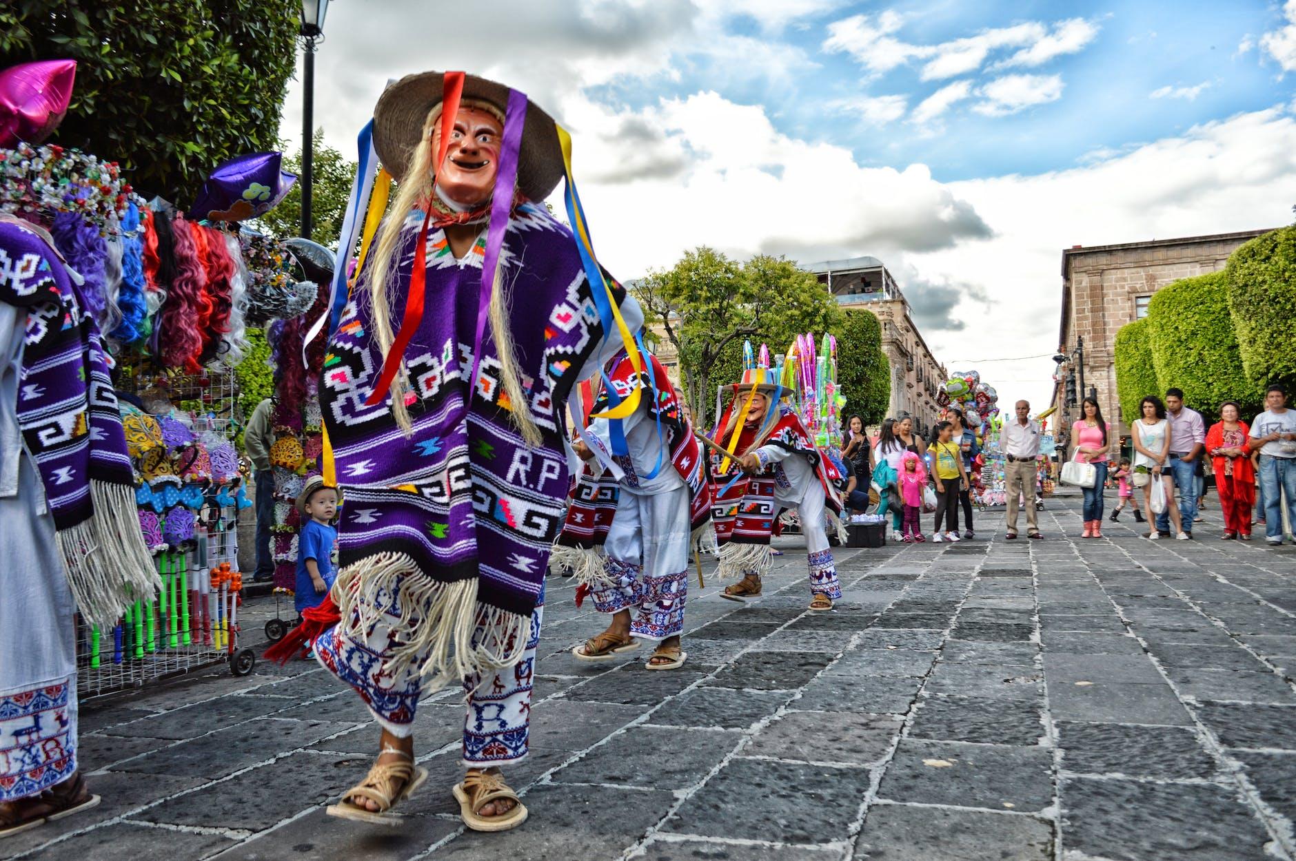 Veracruz Mexico street festival