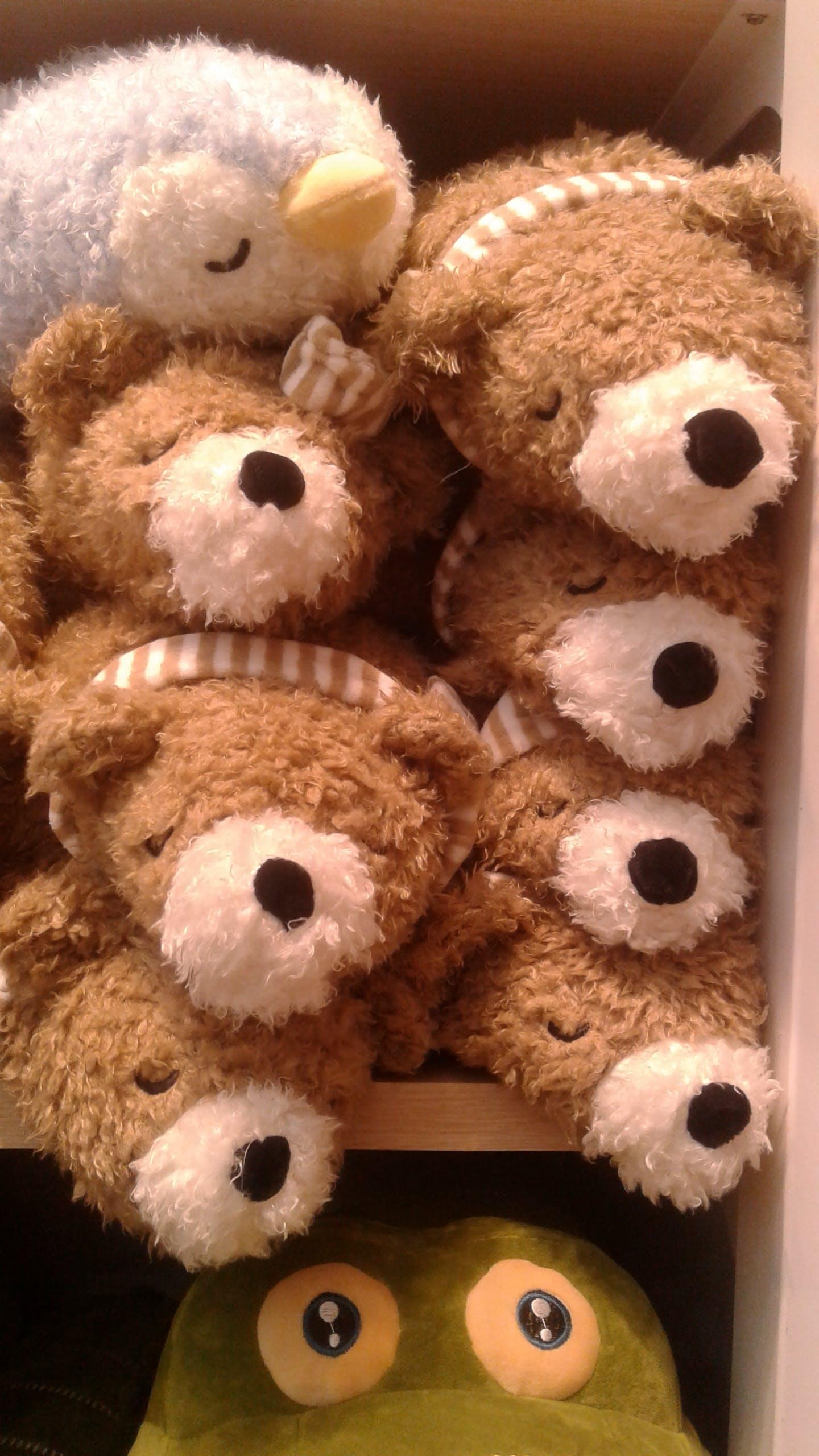 Free stock photo of bear, bird, Crocodile, dolls