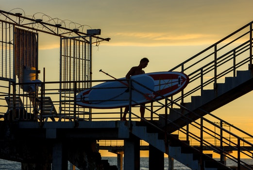 Free stock photo of surfboard, surf