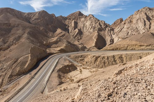 Fotobanka sbezplatnými fotkami na tému hory, Izrael, pieskovec, piesok