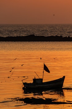 Free stock photo of #hajialimumbai #sunset