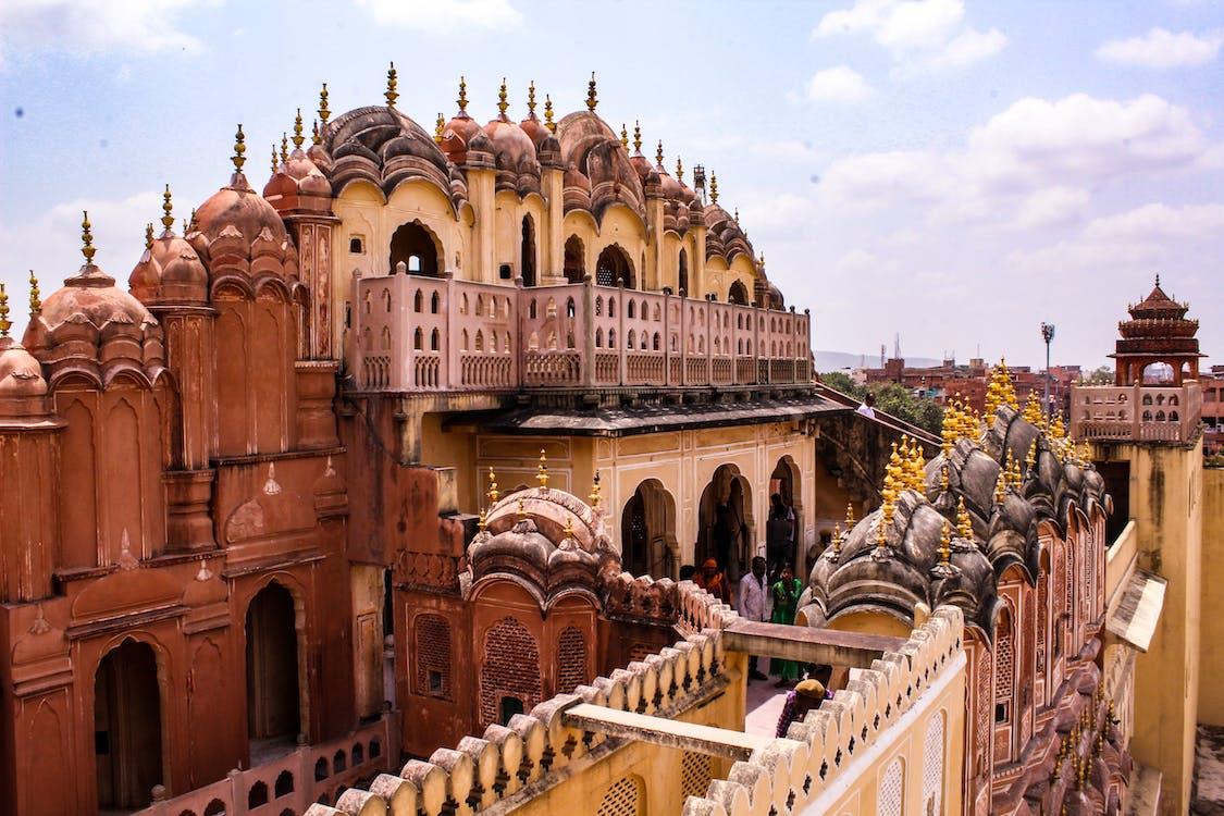 розовый цвет Джайпура