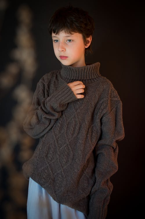 Gratis lagerfoto af barn, Dreng, efterår