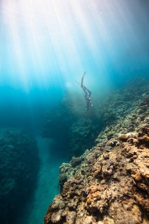 Immagine gratuita di acqua, acqua di mare, anonimo