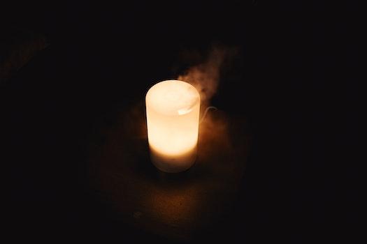 Free stock photo of night, dark, steam, product