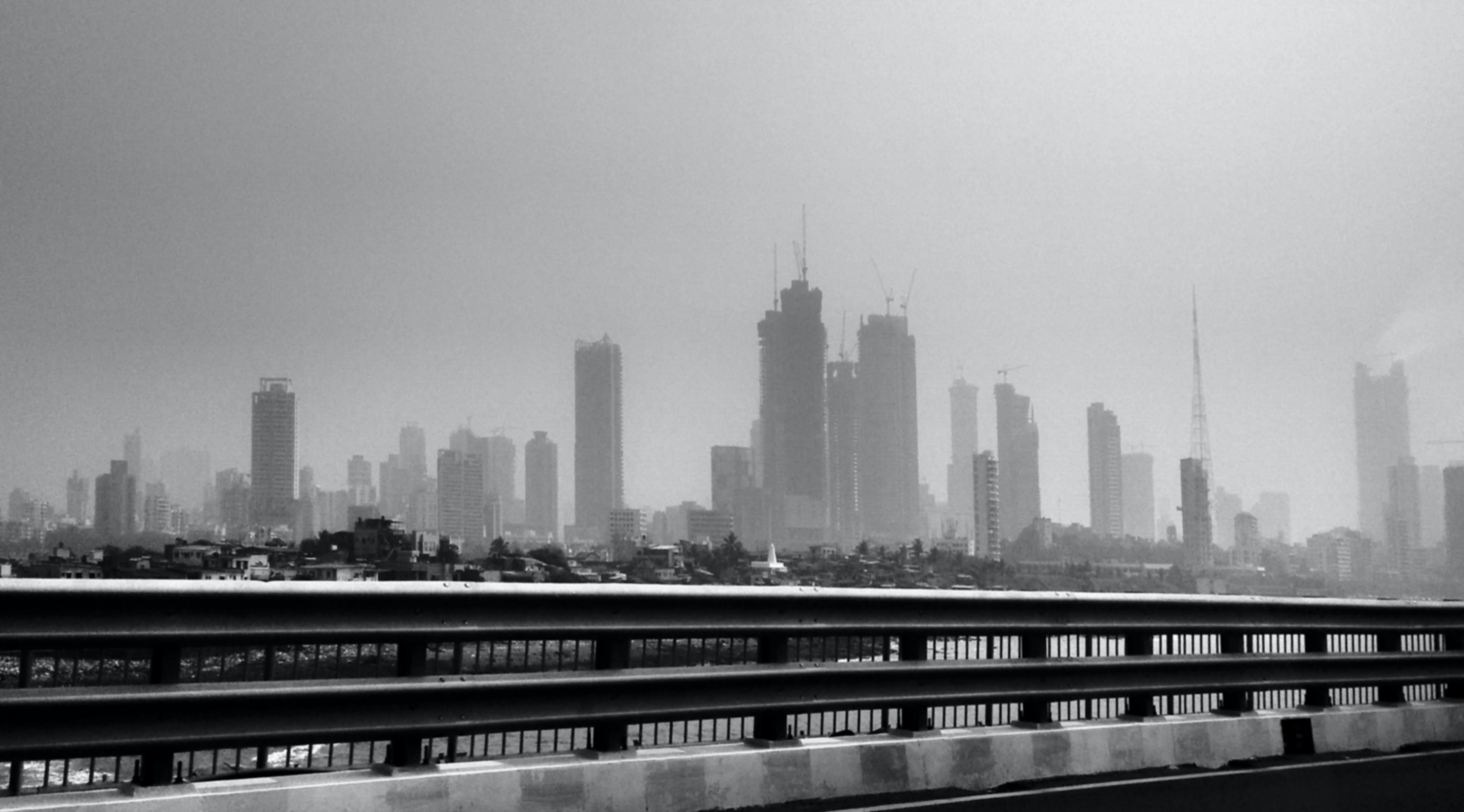 Free stock photo of black and white, india, view