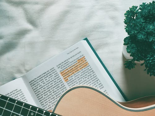 Free stock photo of bed, bible, book