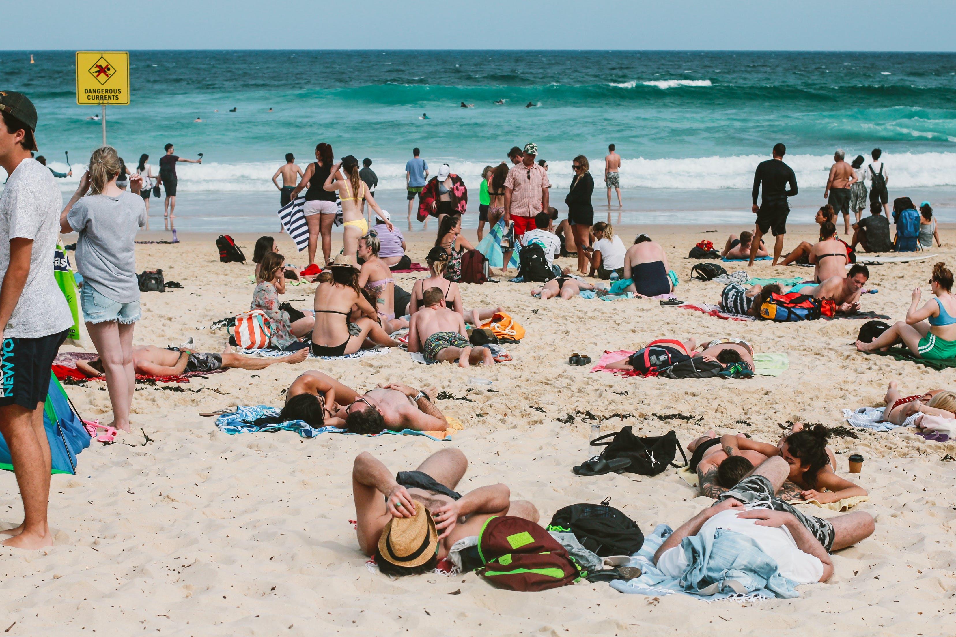 Kostenloses Stock Foto zu meer, landschaft, strand, ferien