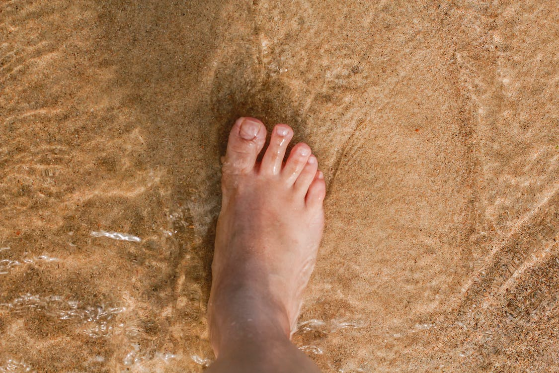 Photo of Person Right Foot
