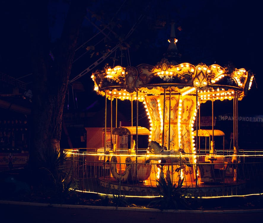Lit Up Carousel