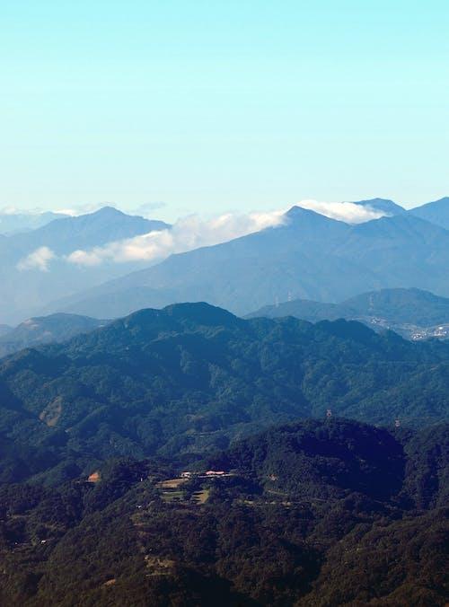 Free stock photo of aerial view, mountains, shiding