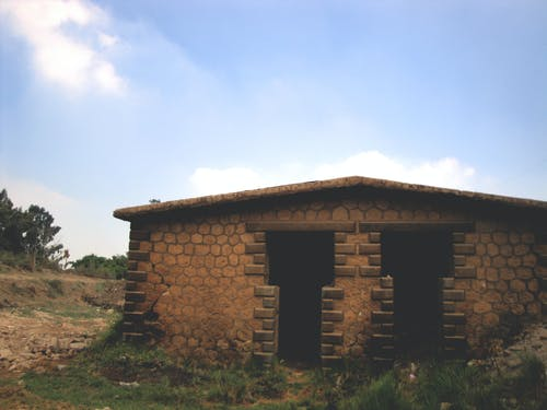 Безкоштовне стокове фото на тему «блакитне небо, дах, дахи, листя»