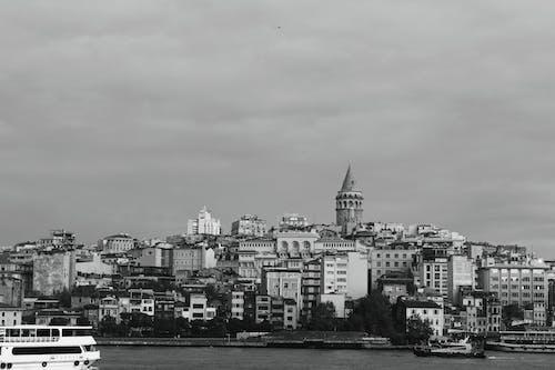 คลังภาพถ่ายฟรี ของ ขาวดำ, ดำและขาว, ตัวเมือง