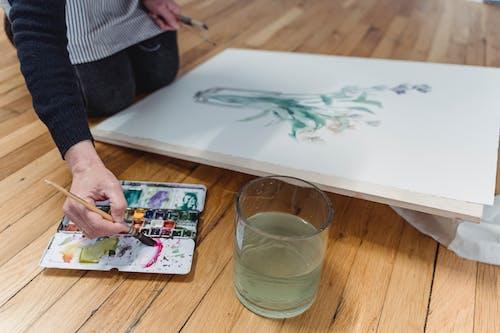 Бесплатное стоковое фото с акварель, воображение, живопись