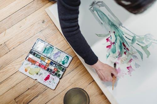Immagine gratuita di acquerello, arte, colorato