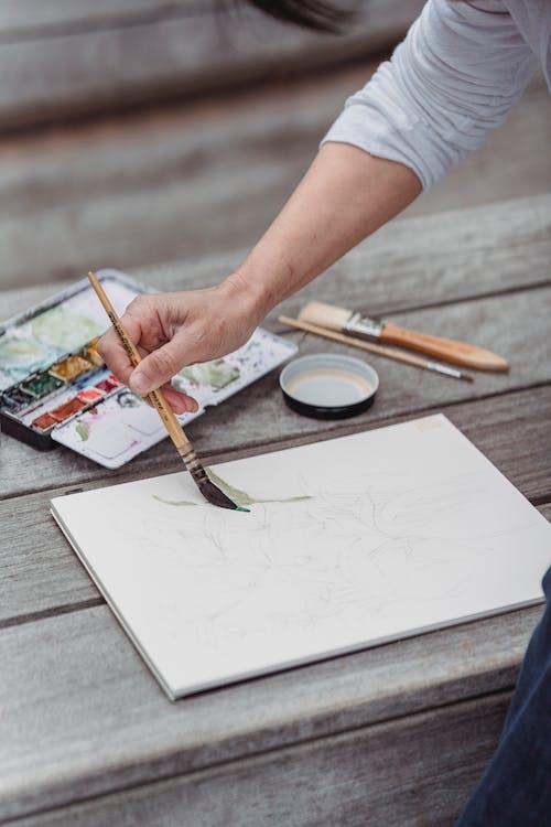 Ingyenes stockfotó akvarell, ecset, festés témában