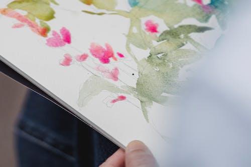 Fotos de stock gratuitas de abstracto, Arte y manualidades, bloc de dibujo