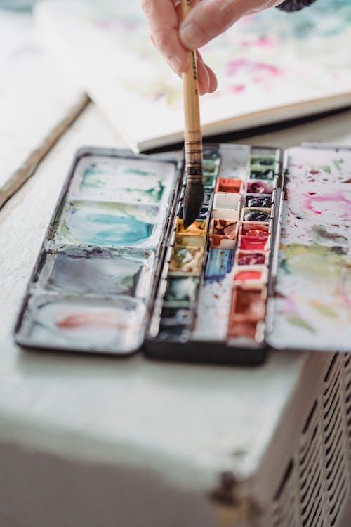 Photos gratuites de aquarelle, coloré, couleur